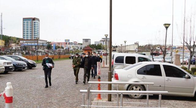5 farklı inşaattan kablo çalan hırsızlar tutuklandı