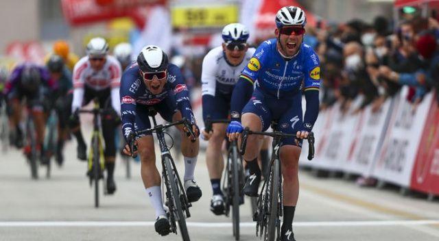 56. Cumhurbaşkanlığı Türkiye Bisiklet Turu'nun ikinci etabını Cavendish kazandı