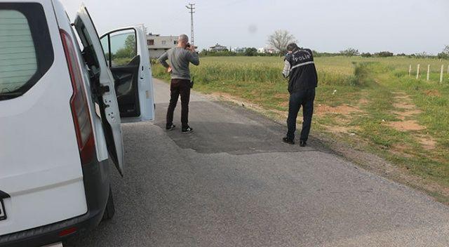 Adana'da seyir halindeki otomobilden açılan ateş sonucu bir kişi yaralandı
