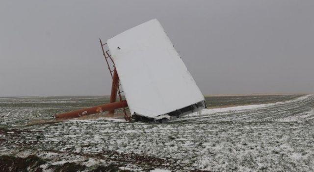 Aksaray'da fırtına etkisini sürdürüyor