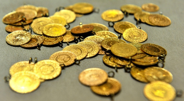 Altının gramı 456 lira oldu