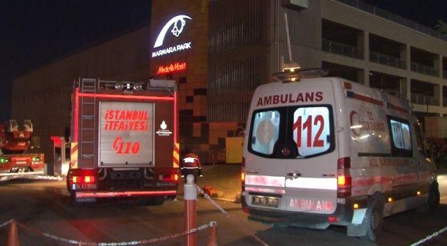 AVM çatısında intihar girişimi: 3 saat sonra ikna edilebildi