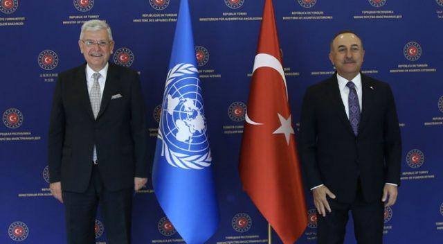 Bakan Çavuşoğlu, BM 75. Genel Kurul Başkanı Bozkır'la görüştü