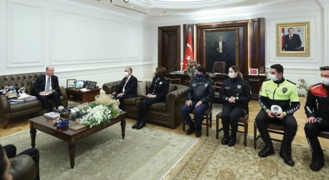 Bakan Soylu'dan Türk Polis Teşkilatı'nın kuruluşunun 176. yıl dönümü mesajı