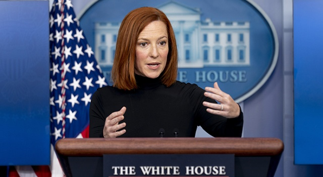 Beyaz Saray Sözcüsü Psaki: Teröristler artık bütün dünyaya yayıldı