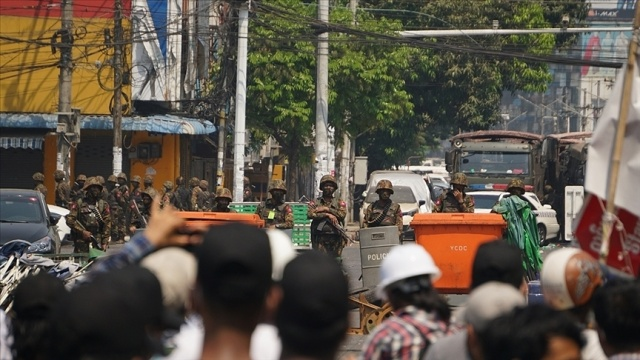 BM, Myanmar'daki darbe karşıtı protestoları, Suriye ayaklanmasına benzetti