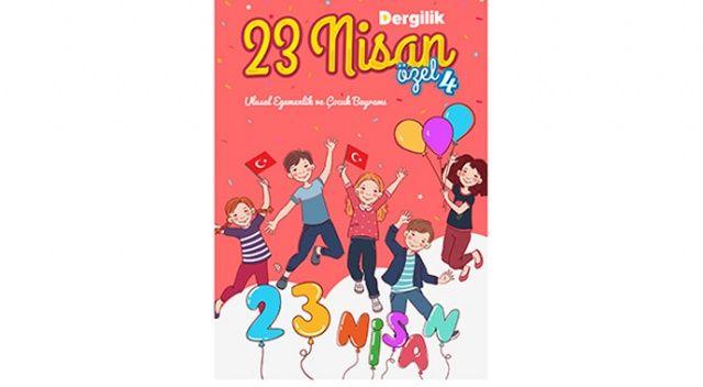 Çocuklar 23 Nisan'ı Dergilik'te kendi eserleriyle kutladı