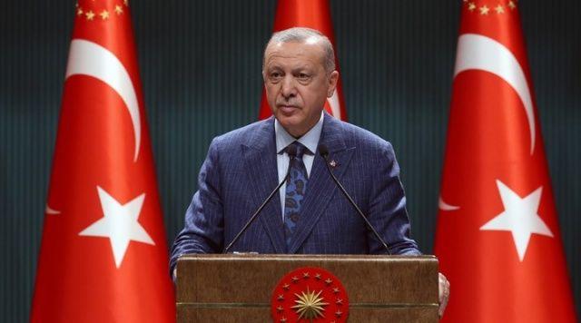 Cumhurbaşkanı Erdoğan'dan, Maşalyan'a mesaj
