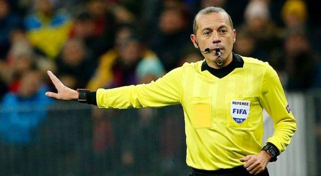 Cüneyt Çakır, EURO 2020'de düdük çalacak