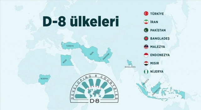 D-8 10 Yıllık Yol Haritası kabul edildi