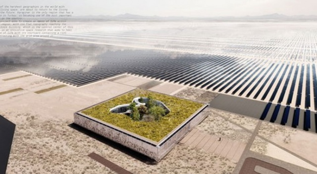 Dev güneş santrali 'Vaha'dan yönetilecek