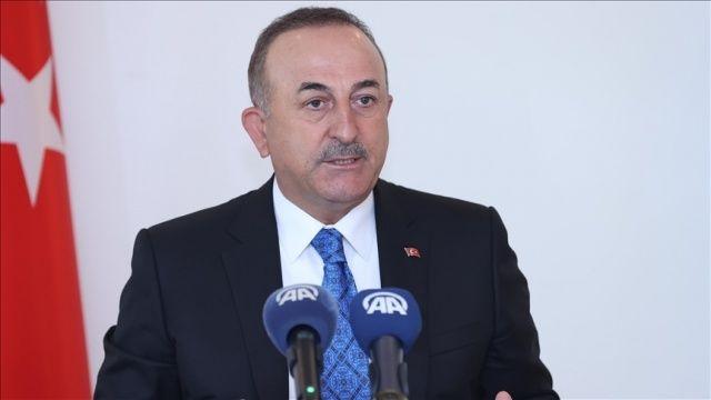 Dışişleri Bakanı Çavuşoğlu, Yunanistan'ın Ankara Büyükelçisi Diamessis'i kabul etti