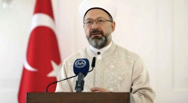 """Diyanet İşleri Başkanı Erbaş: """"Bayram namazı kılınacak şekilde hazırlıklarımızı yapıyoruz"""""""