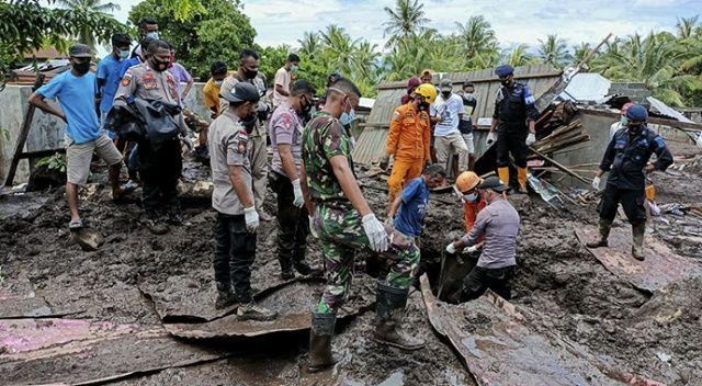 Endonezya'daki sel ve heyelan ölü sayısı 117 oldu