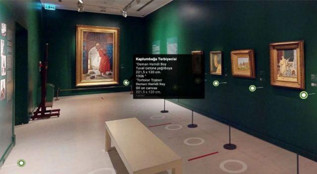 Evden sanata üç boyutlu erişim