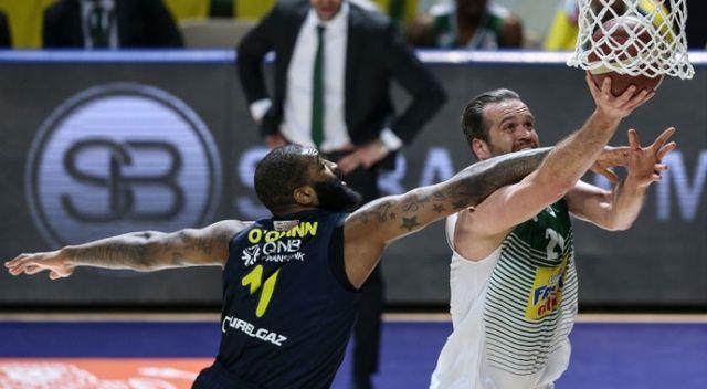 Fenerbahçe Beko deplasmanda mağlup