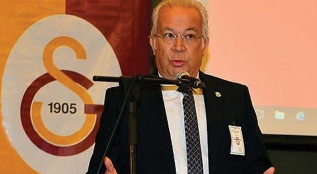 Galatasaray'da Eşref Hamamcıoğlu, başkan adaylığını açıkladı