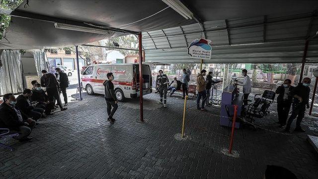 Gazze Şeridi'nde günlük Kovid-19 vaka sayısı en yüksek düzeye çıktı