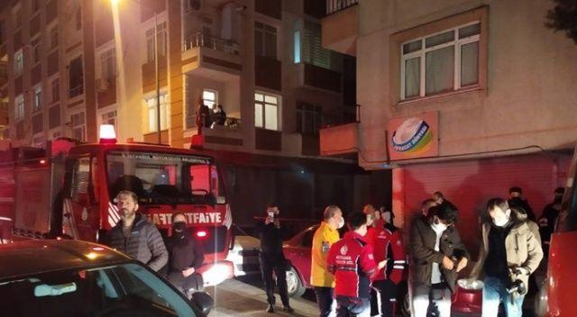 Güngören'de 5 katlı binanın 2'nci katında korkutan yangın: 3 yaralı