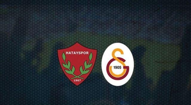Galatasaray, deplasmanda Hatayspor'a 3-0 mağlup oldu
