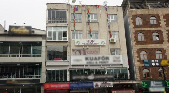 HDP Adıyaman İl Başkanlığına operasyon