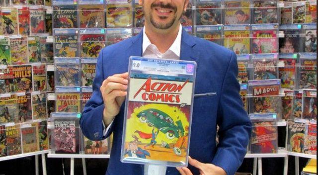 İlk Superman'li eser 3,2 milyon dolar