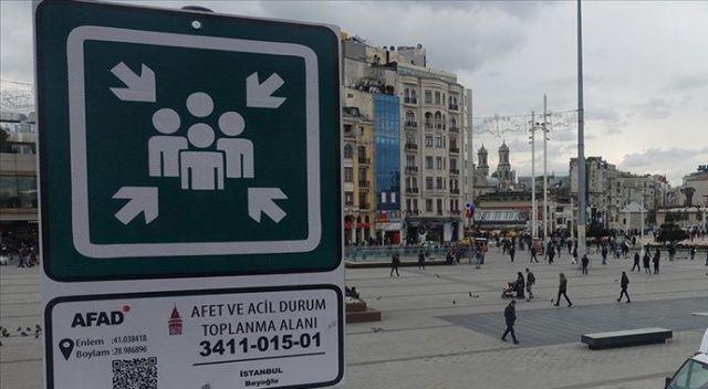 İstanbul'da afet ve acil durum toplanma alanı sayısı 5 bin 599'a ulaştı