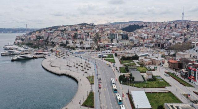 İstanbul'da kısıtlama nedeniyle sakin bir gün yaşanıyor