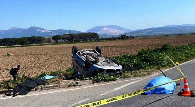 İzmir'de süt kamyonu ile hafif ticari araç çapıştı: 3 ölü, 4 ağır yaralı