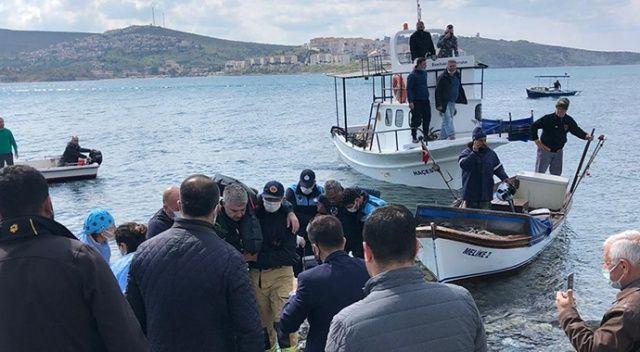 Ege'de denize düşen eğitim uçağındaki 2 pilot kurtarıldı