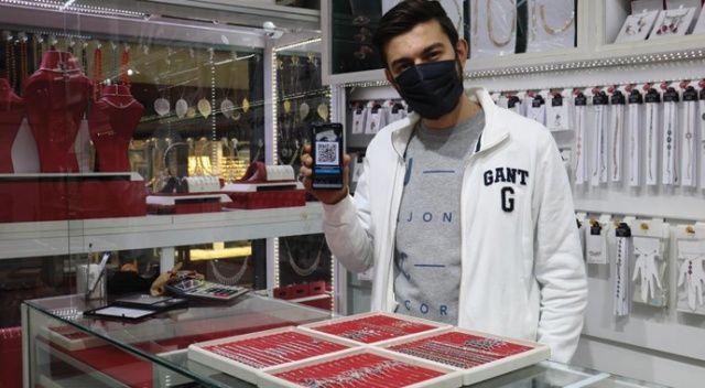 Kahramanmaraşlı kuyumcu dijital parayla altın ve gümüş satıyor