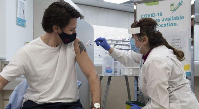 Kanada Başbakanı Trudeau ve eşi Astrazeneca aşısı oldu