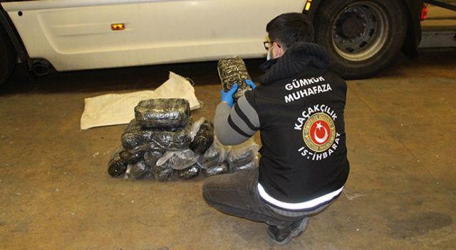 Kapıkule'de 208 bin 872 adet uyuşturucu hap ele geçirildi