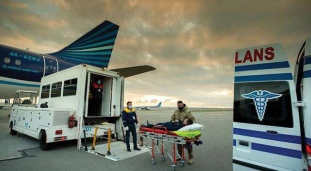 Karabağ'da yaralanan 12 Azerbaycanlı gazi Türkiye'de tedavi edilecek