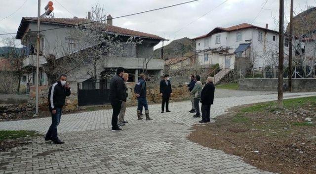 Kaymakam, Çorum'daki depremin ardından köylerde inceleme yaptı