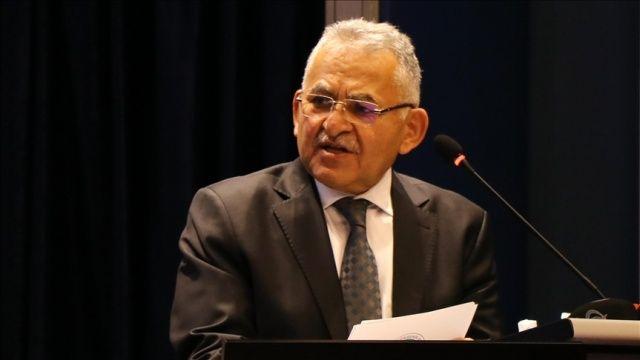 Kayseri Büyükşehir Belediye Başkanı Büyükkılıç'ın Kovid-19 testi pozitif çıktı
