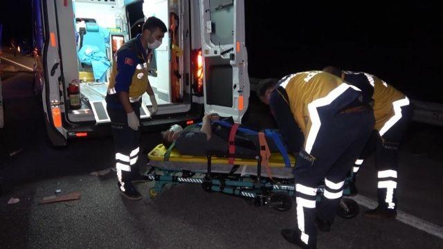 Kırıkkale'de kamyon ile kamyonet çarpıştı: 1 ölü, 4 yaralı