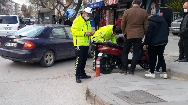 Kırıkkale'de motosiklet kazası: 1 yaralı