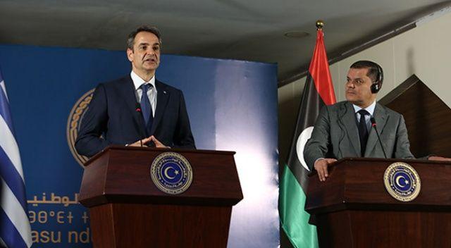Libya Başbakanı Dibeybe'den Miçotakis'e soğuk duş: Türkiye ile anlaşmamız sürecek