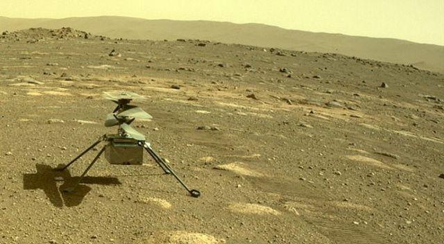 Mars'ta Ingenuity helikopterinin ilk büyük testi başarılı geçti