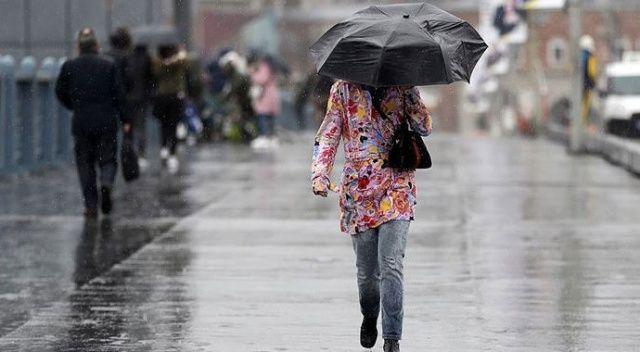 Meteoroloji'den Marmara ve Karadeniz'e sağanak yağış uyarısı