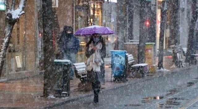 Meteoroloji uyardı! Sağanak ve kar yağışı bekleniyor (6 Nisan 2021 hava durumu)