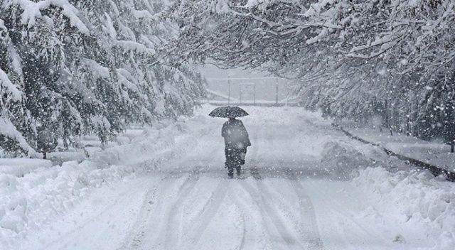 Meteorolojiden 4 il için kuvvetli rüzgar ve kar yağışı uyarısı