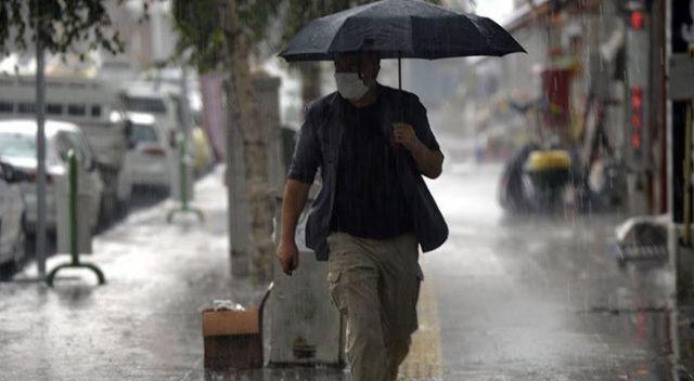 Meteorolojiden 5 bölgeye yağış uyarısı