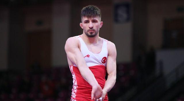 Milli güreşçi Süleyman Karadeniz Avrupa ikincisi oldu