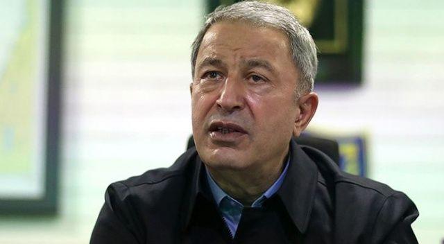 Milli Savunma Bakanı Akar'dan şehit Pilot Yüzbaşı Gençcelep için başsağlığı mesajı