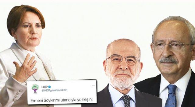 Muhalefet çelişkisi! HDP'ye sessiz ABD'ye tepkili