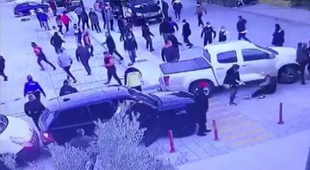 Mustafa Üstündağ'ın karıştığı kavganın görüntüleri ortaya çıktı