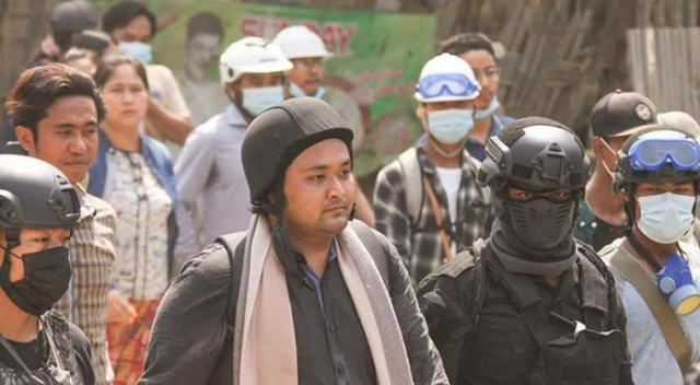 Myanmar'da güvenlik güçleri, askeri yönetim karşıtı grup lideri Wai Moe Naing'i gözaltına aldı