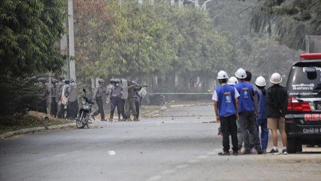 Myanmar'da güvenlik güçlerinin silahlı şiddeti sonucu ölen sivillerin sayısı 598'e çıktı